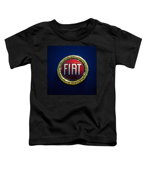 1972 Fiat Dino Spider Emblem Toddler T-Shirt