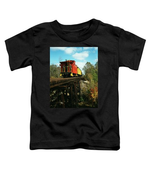 1980s Now Defunct Kettle Moraine Scenic Toddler T-Shirt