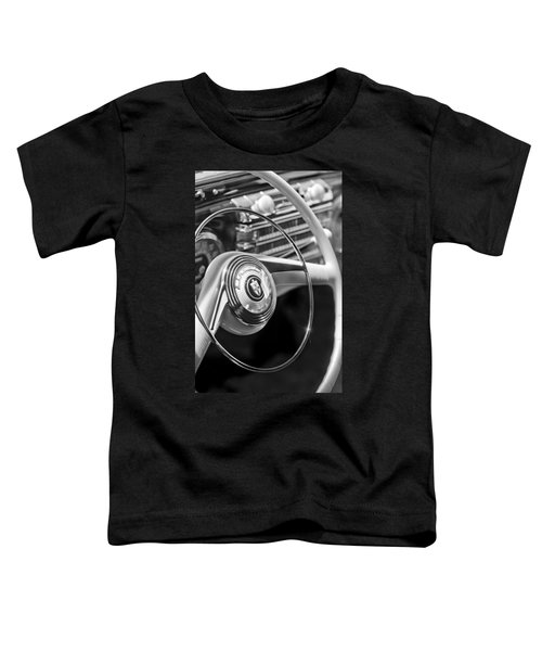 1942 Lincoln Continental Cabriolet Steering Wheel Emblem Toddler T-Shirt