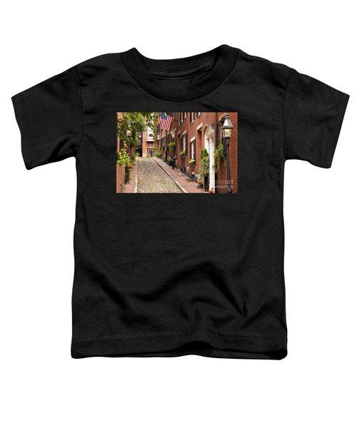 Acorn Street Boston Toddler T-Shirt