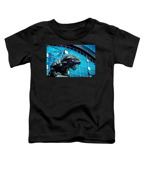 Black Panther Statue Toddler T-Shirt