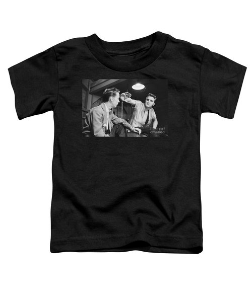 Elvis Presley And His Cousin Gene Smith 1956 Toddler T-Shirt