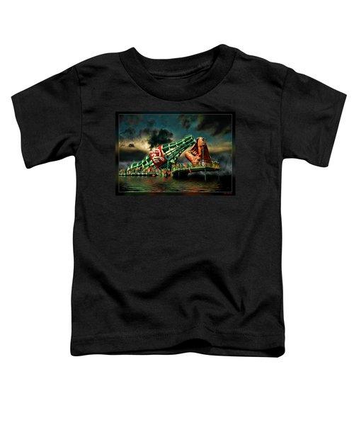 Floating Coke Bottle Toddler T-Shirt