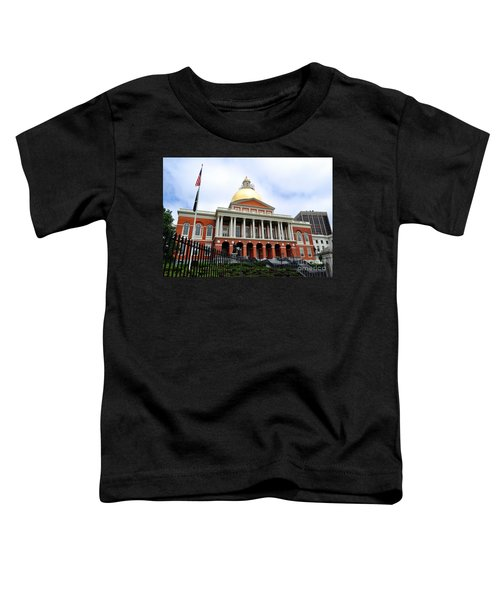 Massachusetts State House Boston Ma Toddler T-Shirt