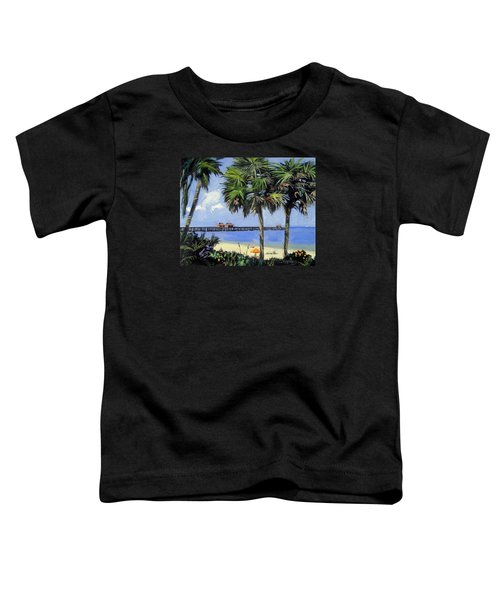Naples Pier Naples Florida Toddler T-Shirt