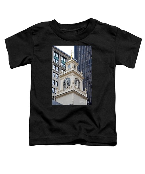 Old State House Boston Ma Toddler T-Shirt