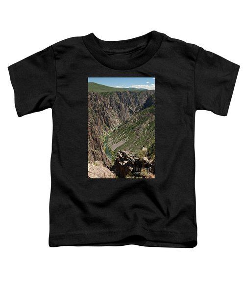 Pulpit Rock Overlook Black Canyon Of The Gunnison Toddler T-Shirt