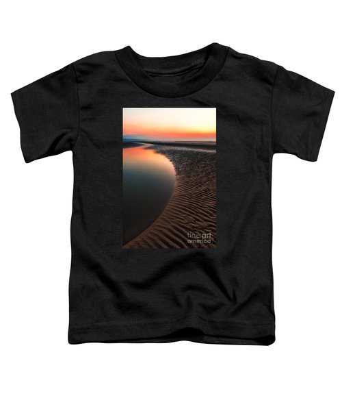 Seascape Sunset Toddler T-Shirt