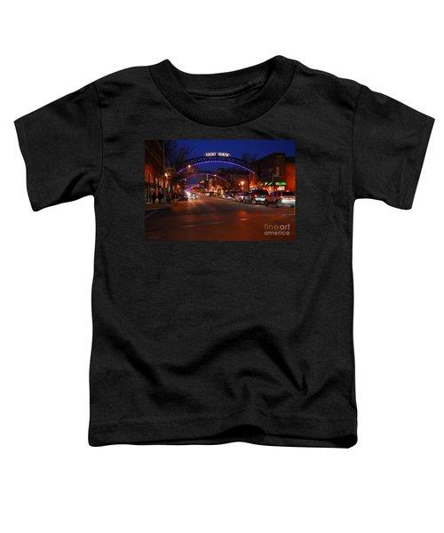 D8l-353 Short North Gallery Hop Photo Toddler T-Shirt