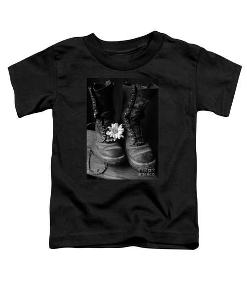 Sweat And Fire Worn Toddler T-Shirt