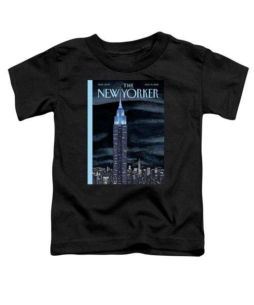 New Yorker November 19th, 2012 Toddler T-Shirt