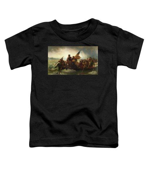 Washington Crossing The Delaware  Toddler T-Shirt