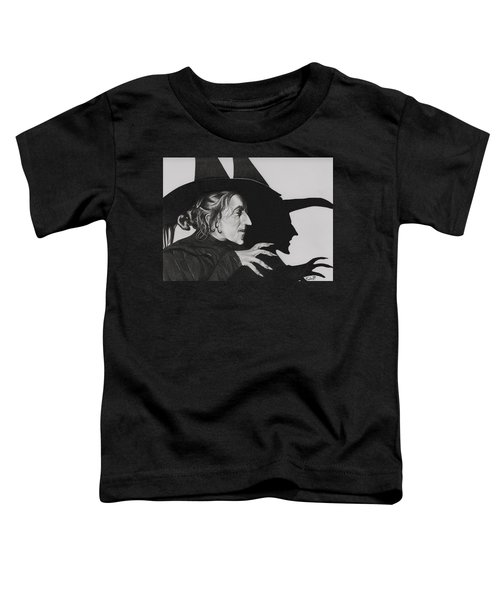 Wicked Witch Of The West Toddler T-Shirt