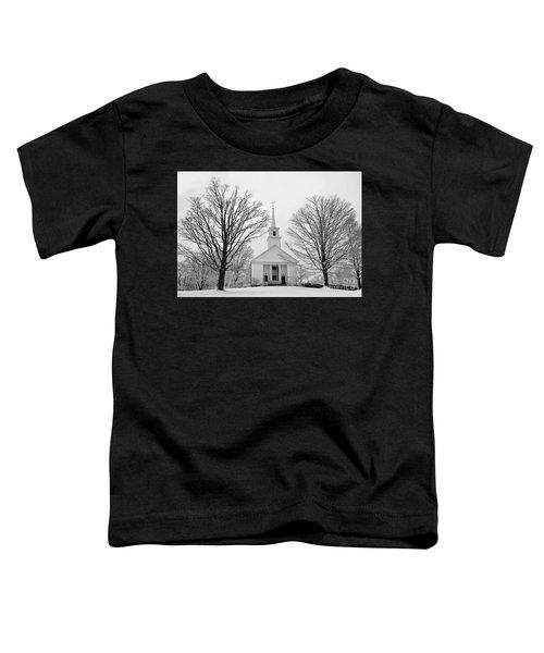Winter Snow Scene Toddler T-Shirt