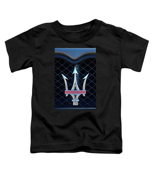 2005 Maserati Gt Coupe Corsa Emblem Toddler T-Shirt