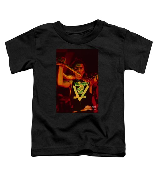 Alice Cooper At The Concord Pavillion Toddler T-Shirt