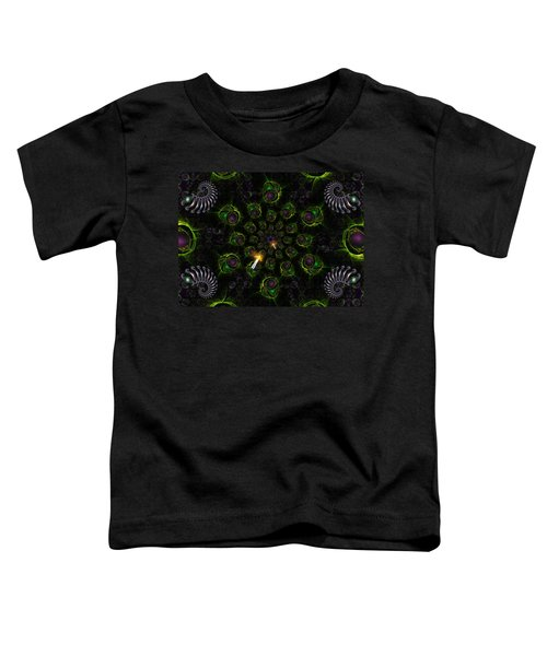 Toddler T-Shirt featuring the digital art Cosmic Embryos by Shawn Dall