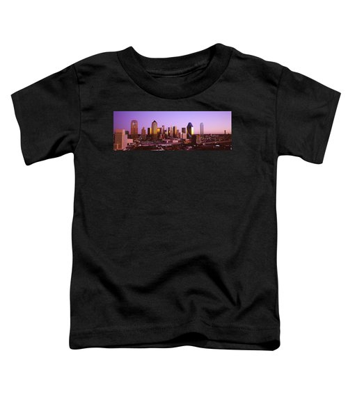 Dallas, Texas, Usa Toddler T-Shirt by Panoramic Images