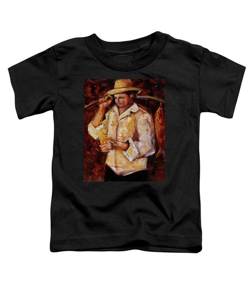 Jibaro De La Costa Toddler T-Shirt