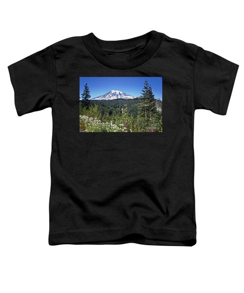 Mount Ranier Toddler T-Shirt