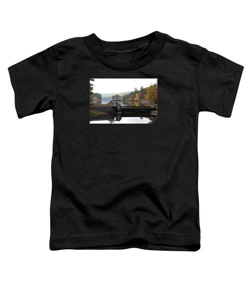 Pine River Pond  Toddler T-Shirt