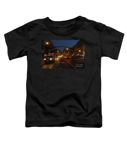 D8l-152 Short North Gallery Hop Photo Toddler T-Shirt