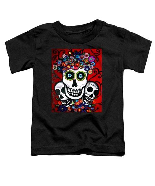 3 Skulls Toddler T-Shirt