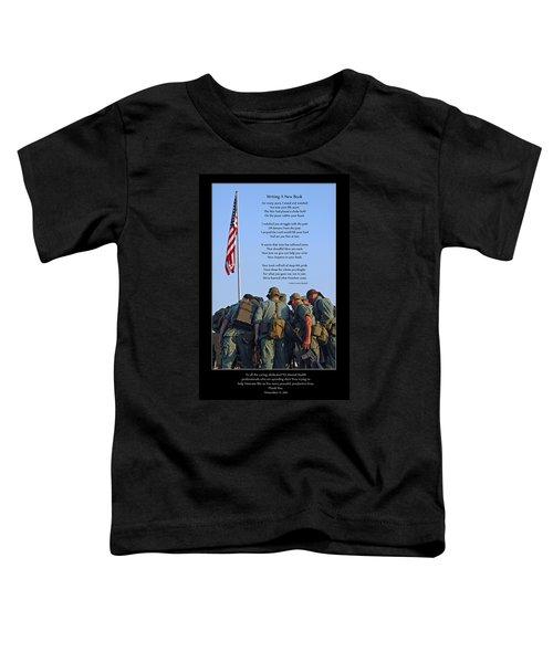 Veterans Remember Toddler T-Shirt