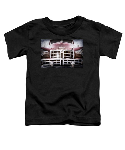 1948 Lincoln Continental Grille Emblem Toddler T-Shirt