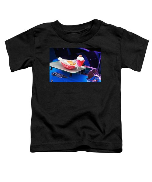 57 Chevy At A Drive-in Toddler T-Shirt
