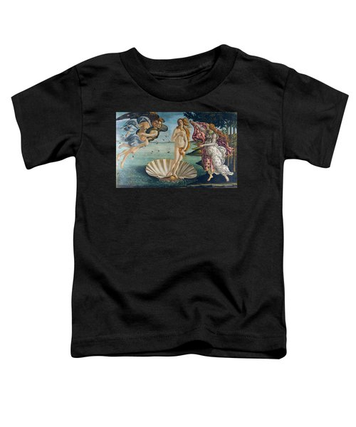 The Birth Of Venus Toddler T-Shirt