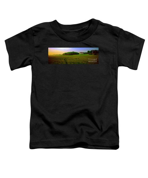 Conley Road, Spring, Field, Barn   Toddler T-Shirt