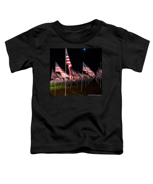 9-11 Flags Toddler T-Shirt