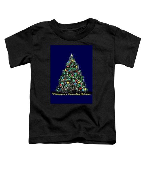 A Bedazzling Christmas Toddler T-Shirt