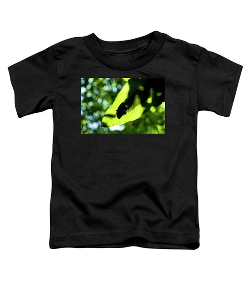 A Butterfly At The Butterfly Park Toddler T-Shirt