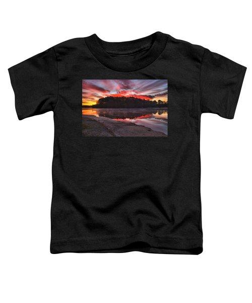 A Christmas Eve Sunrise Toddler T-Shirt
