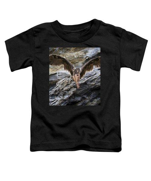 A Guardian Angel Toddler T-Shirt