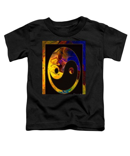 A Happy Balance Of Energies Abstract Healing Art Toddler T-Shirt
