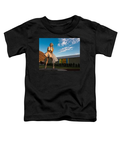 A Marilyn Morning Toddler T-Shirt