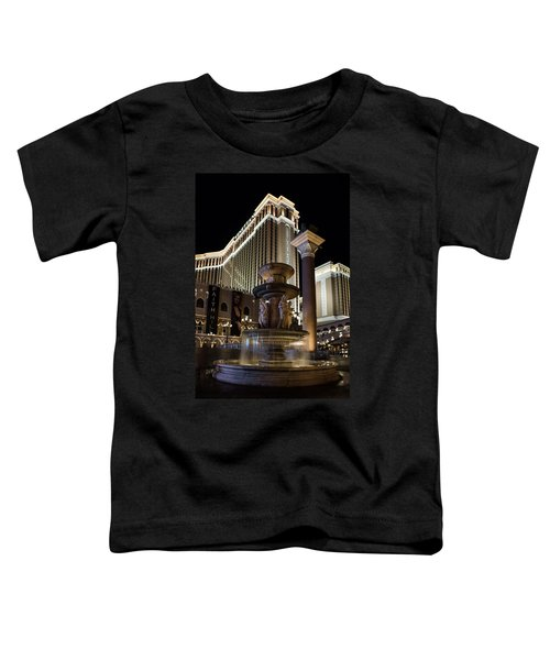 A Night At The Venetian Las Vegas Toddler T-Shirt