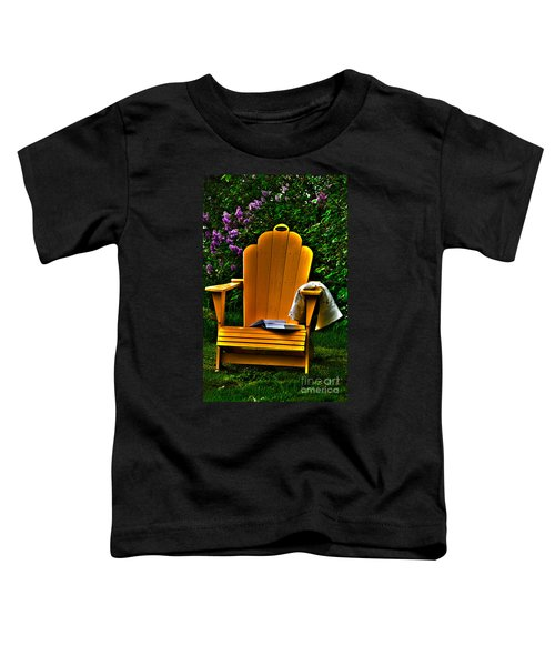 A Well Deserved Rest Toddler T-Shirt