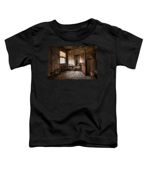 Abandoned Asylum - Haunting Images - What Once Was Toddler T-Shirt