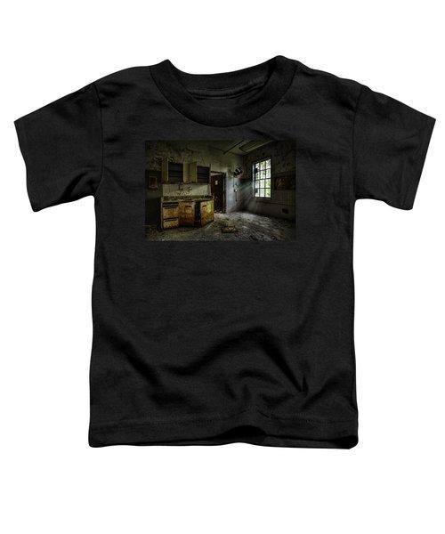 Abandoned Building - Old Asylum - Open Cabinet Doors Toddler T-Shirt