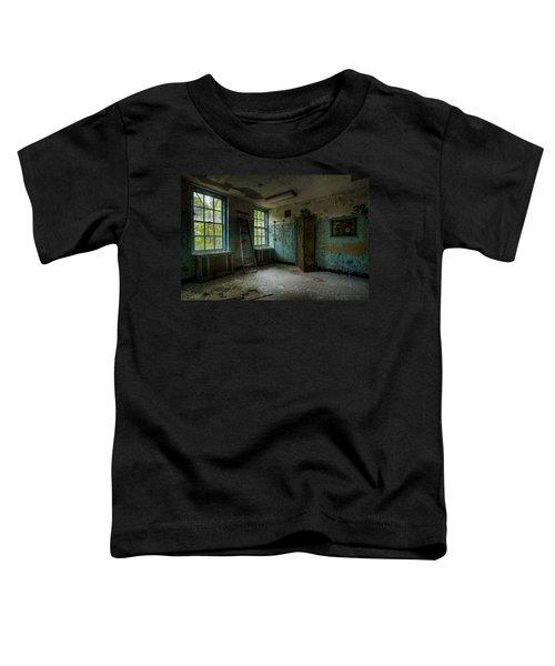 Abandoned Places - Asylum - Old Windows - Waiting Room Toddler T-Shirt