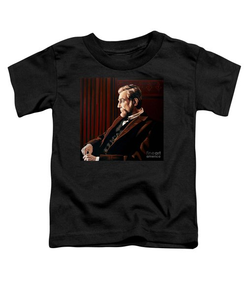 Abraham Lincoln By Daniel Day-lewis Toddler T-Shirt