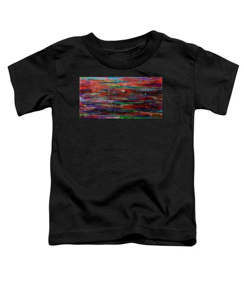 Abstract In Reflection Toddler T-Shirt