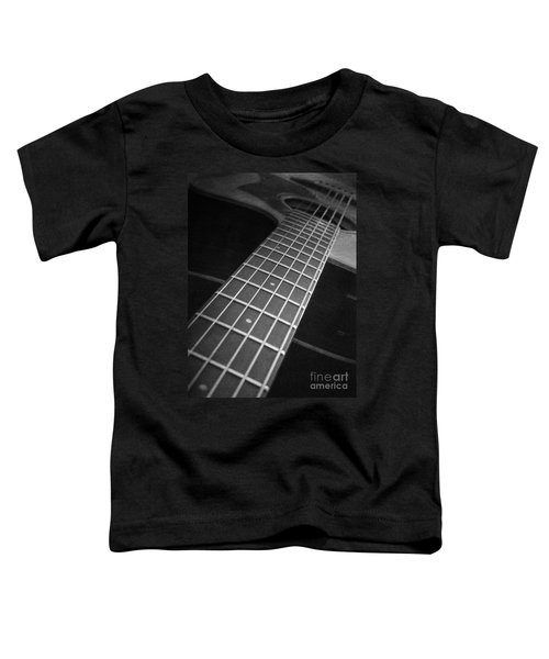 Acoustic Guitar Toddler T-Shirt