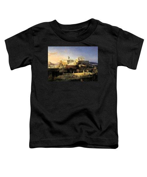 Acropolis Of Athens Toddler T-Shirt