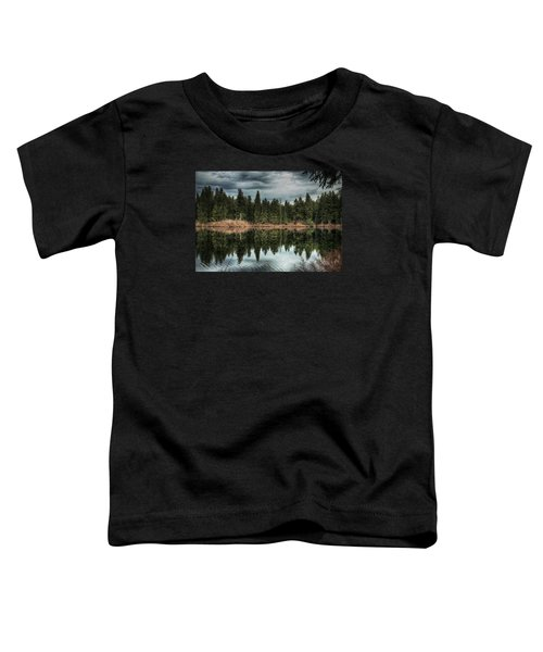 Across The Lake Toddler T-Shirt