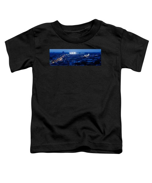 Aerial View Of A City, Wrigley Field Toddler T-Shirt